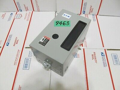 EATON  ECL03B1A4A  Enclosure + 4P  20A 120V Contactor  <> NEW  GUARANTEED <>