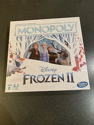 Monopoly Disney Frozen 2 Edition Board Game: Brand New In Box