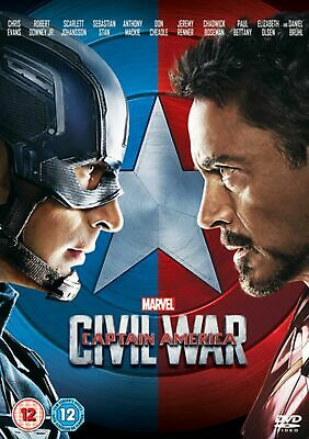 Marvel - Captain America: Civil War - DVD - New and sealed