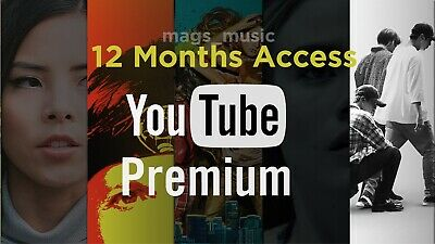YouTube Premium (12 MONTHS ACCESS) w/ FREE YouTube Music | Instant Delivery