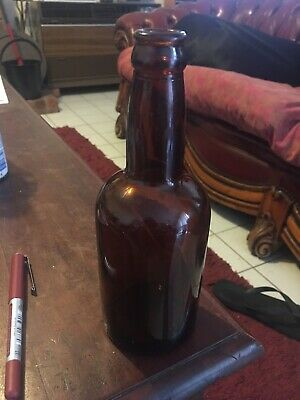 Short Beer Bottle 1940. In Very Good Cond. 20 Cm Tall.AGM,2nd World War.