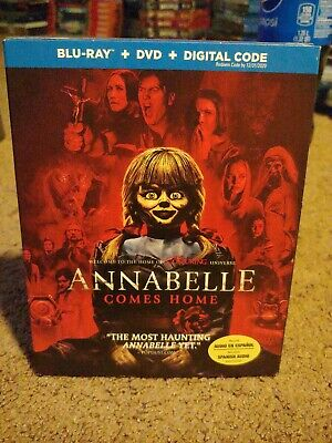 Annabelle Comes Home (Blu-ray + DVD, 2019) w/slipcover