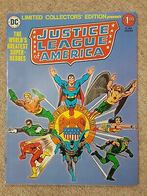 Limited Collectors Edition Justice League of America - DC Comics 1976