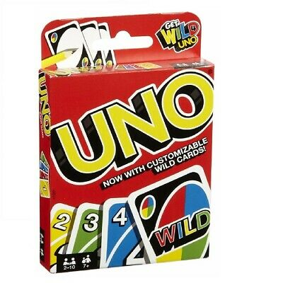 Card Uno Game Mattel New Games Shipping Edition Free 2 Us Original Seller Family