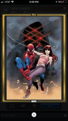 Topps Marvel Collect Digital Card - Gold Comic Book Cover - Spider-Man #1