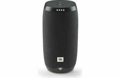 JBL Link 10 Voice-activated WiFi Speaker Black Google Assistant, Factory Sealed