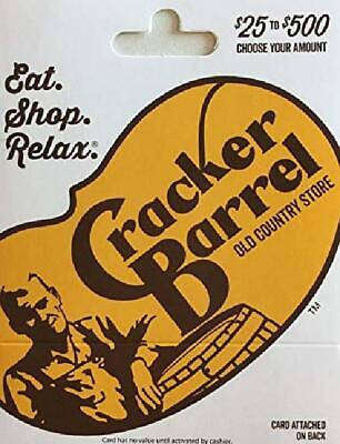 Cracker Barrel Gift Card $50 Value