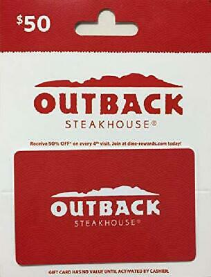 Outback Steakhouse Gift Card $50 Value