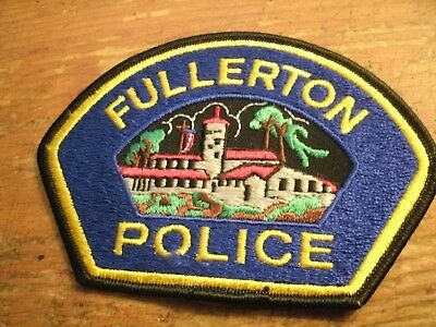 Fullerton Police Patch