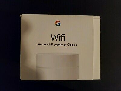 EMPTY BOX Google Wifi AC1200 Dual-Band Mesh Wi-Fi System Router