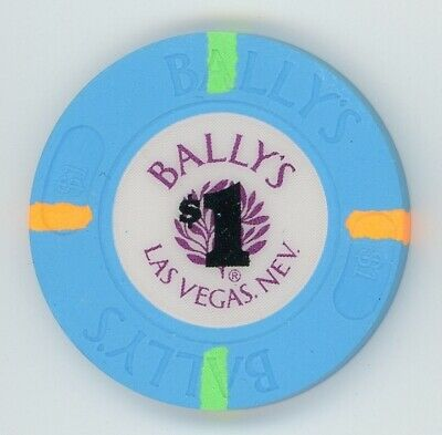 Bally's Casino, Las Vegas, first issue $1 chip mint condition