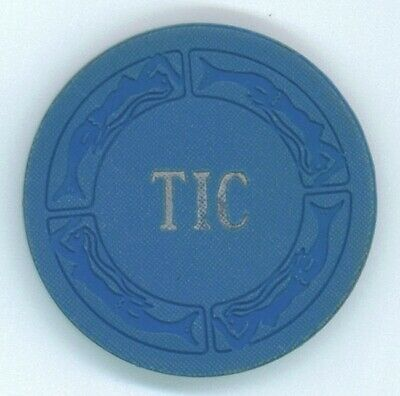Treasure Island Casino TIC $1 early chip
