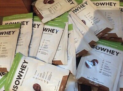 IsoWhey Weight Management Whey Protein 21 Sachets Classic Coffee