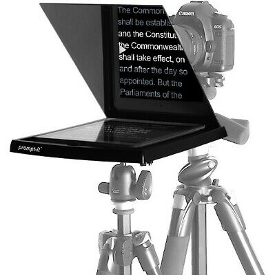 PROMPT-IT Maxi Teleprompter Kit in good condition