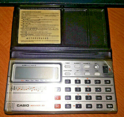 Vintage CASIO Melody - 80 (year 1979)
