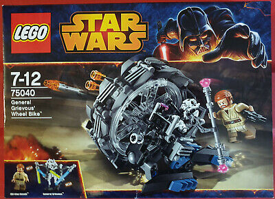 Lego Star Wars 75040 General Grievous' Wheel Bike Neu OVP.