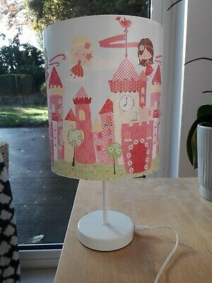 Fairy Princess Castle bedroom lamp- fully working and excellent condition