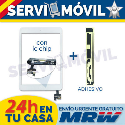 Pantalla Tactil para Ipad Mini 1 2   IC CHIP Blanca + Flex Boton Home Blanco
