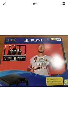 Sony PlayStation 4 1TB FIFA 20 Bundle - Jet Black, Brand New with security seal