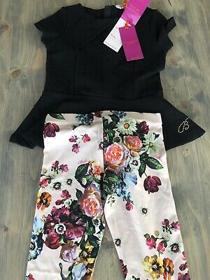 Ted Baker 2 Piece Girls Outfit age 6-7