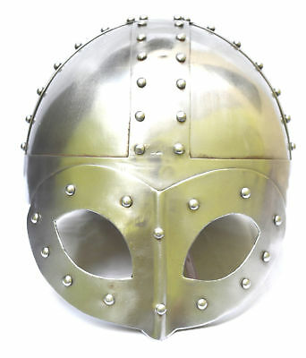 Armor-Viking-Mask-Deluxe-Helmet-With-Liner-amp-Chin-Strap-For-Man