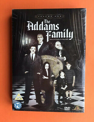 The Addams Family DVD - Volume One 1 - Box Set of 3 DVD's - 22 Episodes