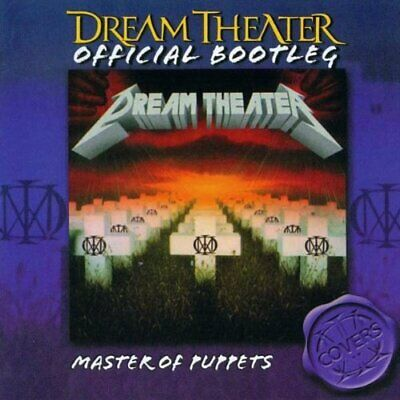 """DREAM THEATER : """"Master Of Puppets"""" (RARE CD)"""