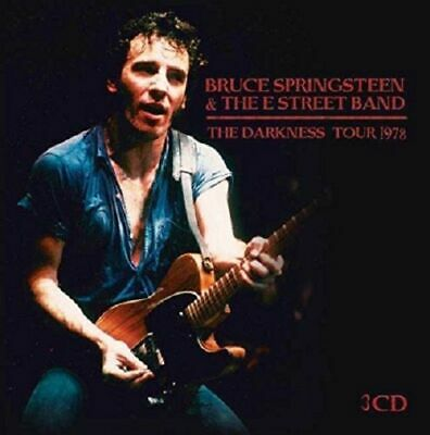 """BRUCE SPRINGSTEEN : """"The Darkness Tour 78"""" (RARE 3 CD)"""