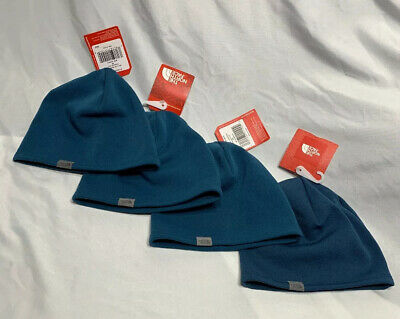 The North Face Bed Head Prussian Blue Beanie - One Size Fits All - Brand New