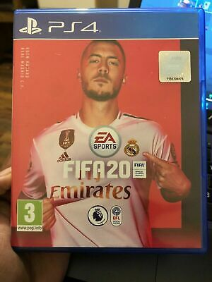 Brand New Sealed FIFA 20 Game Playstation 4 PS4 Fast Post