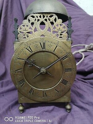 Antique weight driven Lantern Clock