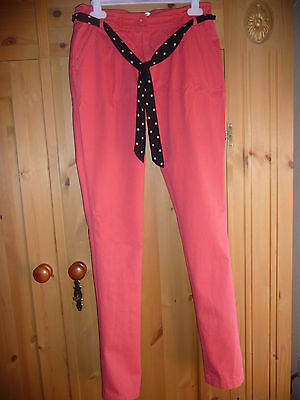 Autograph from M&S - coral coloured trousers - age 14 years - rarely worn