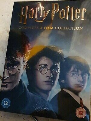 Harry Potter Complete Collection (8 Film) Boxset DVD BRAND NEW (1000596922)