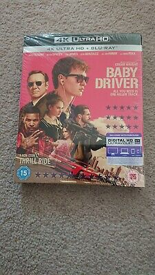 Baby Driver 4k Collector Slipcover with Blu Ray only