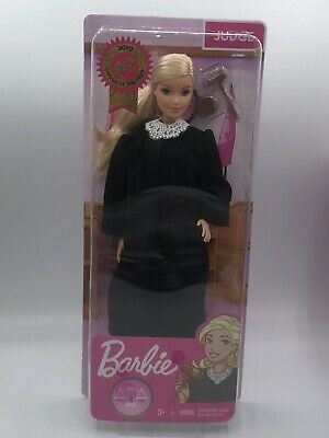 Barbie 2019 Career of the Year JUDGE Doll Long Blonde Hair FXP42 Ready to Ship