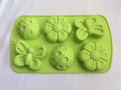 Insect And Flower Silicone Baking Mould - Used Once