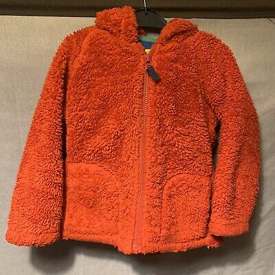 Marks & Spencer M&S Girls Boys Unisex Red Teddy & Warm Hood Coat Age 3-4 years