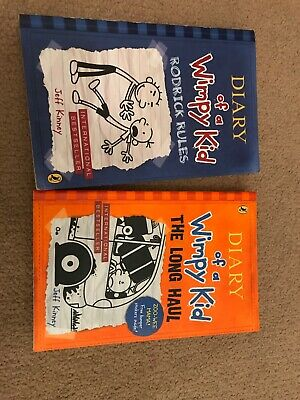 Diary Of A Wimpy Kid Book Bundle Rodrick Rules The Long Haul