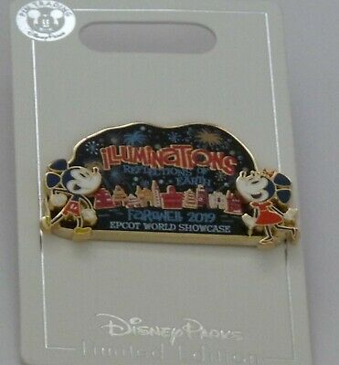 Illuminations Farewell 2019 Cast Member Exclusive Disney Pin LE 500 WDW Epcot