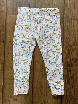 Kids Girls Patterned Leggings Age 3 Years Mothercare
