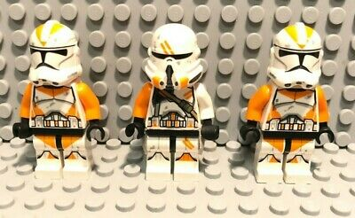 Lego® Star Wars™ Figuren - 3x 212th Clone Trooper Airborne sw522 aus 75036!