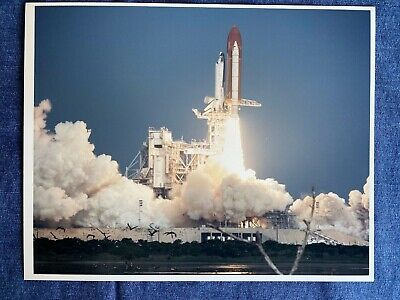 SPACE 1981 SHUTTLE LAUNCH NUMBER ONE COLUMBIA NASA NEW ART PRINT POSTER CC4252