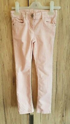 Girls pale pink stretch cord trouser esprit adjustable waist age 6yrs pretty