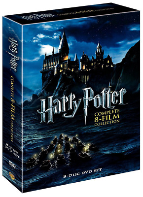 Harry Potter Complete 8-film Collection 8-disc DVD Set 2011 NIB