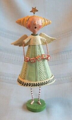 Lori Mitchell Merry Choir Angel  Folk Art Christmas Angel