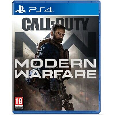 Call of Duty Modern Warfare Standard Edition Play Station 4 PS4 -  BRAND NEW