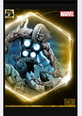Topps Mavel Collect Ultimate Universe 2nd Printing - Thor - Digital Card