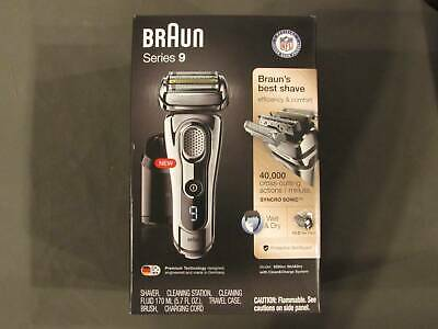Braun 9295CC Series 9 Wet & Dry Mens Electric Shaver