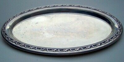 """Reed & Barton Sterling Silver 9 1/8"""" Tray X830"""