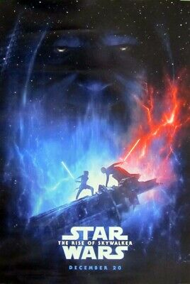 STAR WARS: THE RISE OF SKYWALKER orig 27x40 D/S movie poster LAST ONE (th53)
